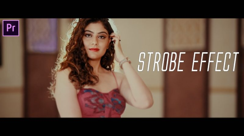 How To Create & Use Strobe Effect