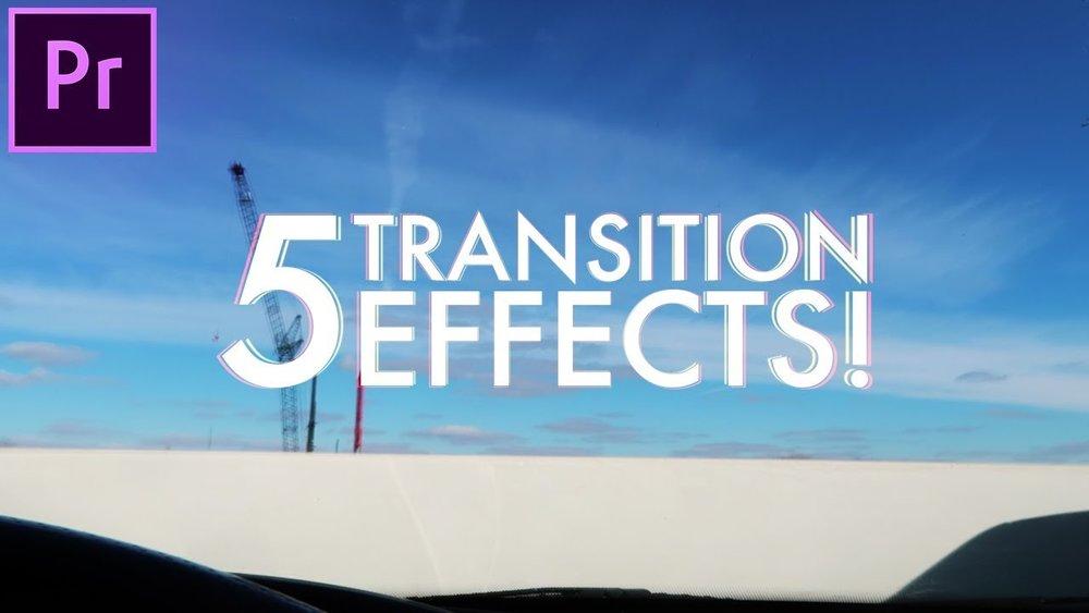 creative effects premiere pro