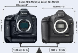 Canon 1DX Mark ii Vs 1Dx Mark iii