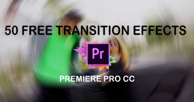 Top 50 Free Premiere Pro Transition effects